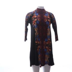 New Romantics 3/4 Sleeve Black Blouse SP